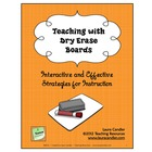FREE Teaching with Dry Erase Boards