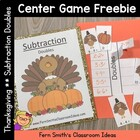 FREE Thanksgiving Subtraction Doubles Center with Interact