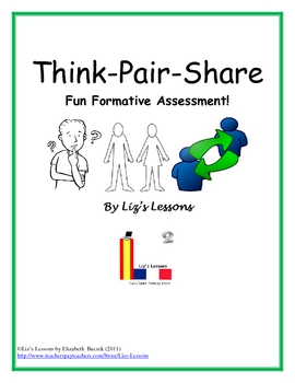 FREE Think-Pair-Share! Fun Formative Assessment