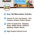 FREE Tic-Tac-Toe Spelling- Over 100 Differentiated Activites