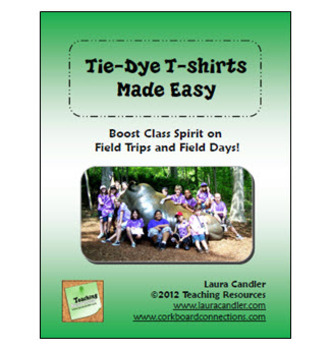 FREE Tie Dye T-shirts Made Easy