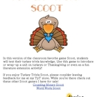 FREE Turkey Trivia Scoot