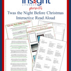 FREE Twas the Night Before Christmas Interactive Read Alou
