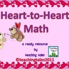 {FREE} Valentine's Activity:  Heart-to-Heart Math