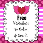 FREE Valentines to Color for K-2