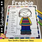 FREE Veterans Day Addition & Subtraction Interactive Noteb