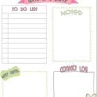 FREE Week at a Glance Planning Page