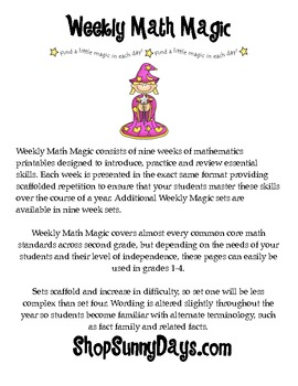FREE Weekly Math Magic