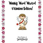 FREE Weekly Word Wizard Valentine Edition