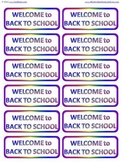 FREE Welcome Back to School Mini Bookmarks