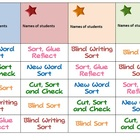 FREE Words Their Way word sorting schedule
