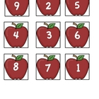 FREE apple numerical order