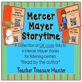FREEBIE! 4 Mercer Mayer Storytime QR Code stories ~ Read b
