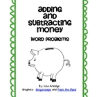 FREEBIE!  Adding and Subtracting Money Task Cards