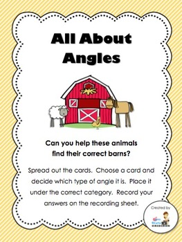 FREEBIE All About Angles Center