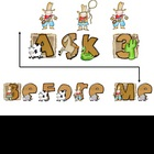 FREEBIE - Ask 3 Before Me Sign Western theme