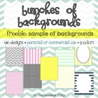 FREEBIE {Bunches of Backgrounds} Designs, Frames for Comme