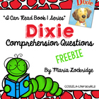 FREEBIE!!  Comprehension Questions for Grace Gilman's Dixie