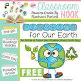 """FREEBIE Earth Day Article:  """"Fighting For Our Earth"""""""