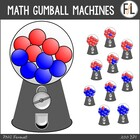 FREEBIE - Gumball Machines {Math Clipart}