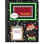 FREEBIE~ Interactive Notebook ~ Epitaph Poetry