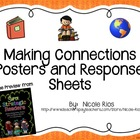 FREEBIE:  Making Connections Posters and Response Sheets