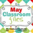 FREEBIE {May Classroom Teacher Files}