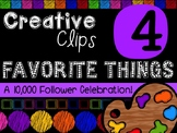 FREEBIE! My Favorite Things #4 {Creative Clips Digital Clipart}