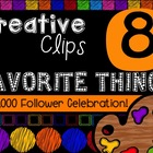 FREEBIE! My Favorite Things #8 {Creative Clips Digital Clipart}