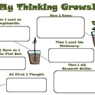 {FREEBIE} My Thinking Grows: Discovering Something New