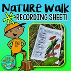 FREEBIE - Nature Walk recording sheet - Perfect Garden Clu
