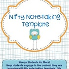 FREEBIE! Note-Taking Template