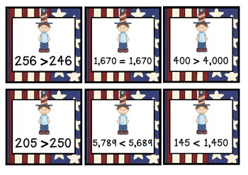 FREEBIE President's Day Math Activity (True or False Math