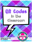 QR Code Use in the Classroom, Literacy, FREE, Generate QR