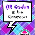 FREEBIE!  QR Code Use in the Classroom, Literacy, FREE, Ge