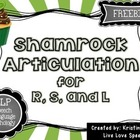 {FREEBIE} Shamrock Articulation for R, S, and L