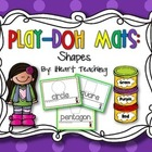 {FREEBIE} Shape Play-Doh Mats