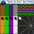 FREEBIE: Spook in Style! Halloween Digi Papers {Clipart Co
