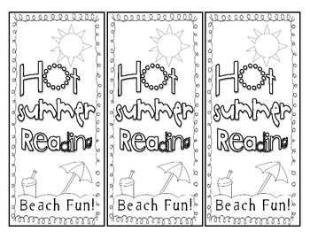 FREEBIE:  Summer Reading Book Marks