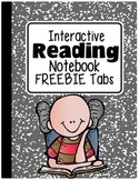 FREEBIE: Tabs for Interactive Reading Notebooks