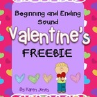 {FREEBIE!} Valentine's Day Beginning and Ending Sound Activity
