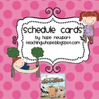 FREEBIE schedule cards