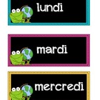 FRENCH Frog Theme - Black & Neon
