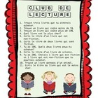 FRENCH Scholastics Club de Lecture flyer book order activi