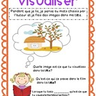FRENCH Visualize (Visualiser) printables and poster Readin