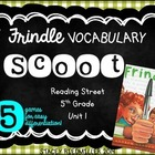 FRINDLE Reading Street Differentiated Vocabulary Scoot Games