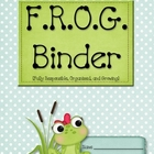 FROG Binder Starter Kit