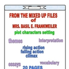 FROM THE MIXED UP FILES OF MRS. BASIL E. FRANKWEILER ACTIVITIES