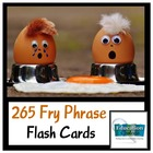 FRY PHRASE FLASH CARDS FOR SIGHT WORD FLUENCY PRACTICE