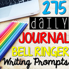 FULL YEAR of English Journal Writing Prompts: Grades 5-10